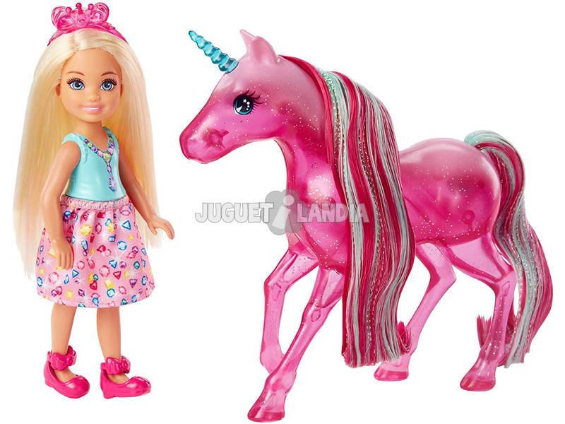 Barbie Chelsea y Unicornio Mattel FPL82