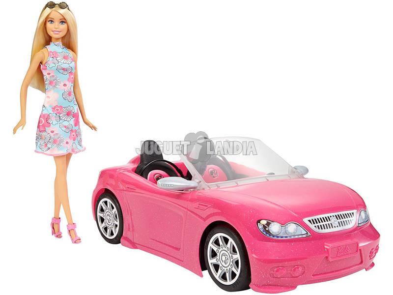 Barbie con Cabrio Rosa Mattel FPR57