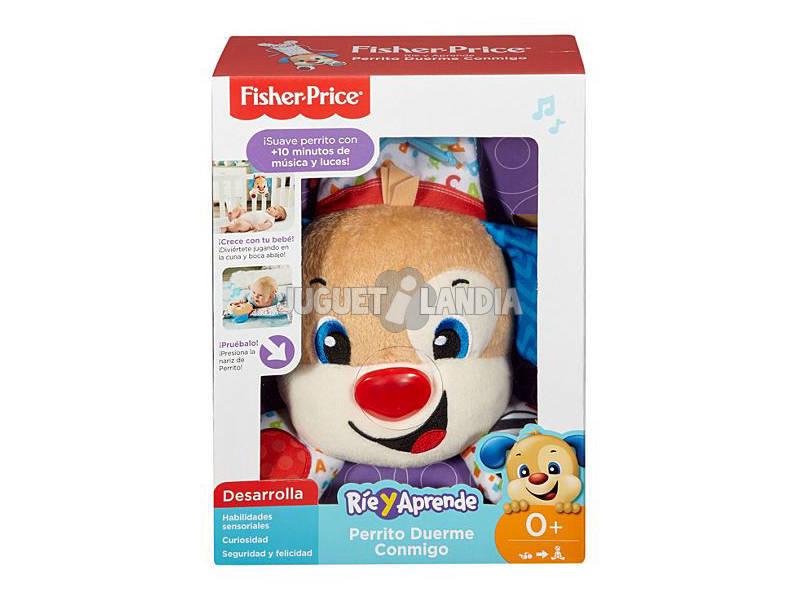 Fisher Price Cãozinho Meu Amiguinho de Berço Mattel FXV06