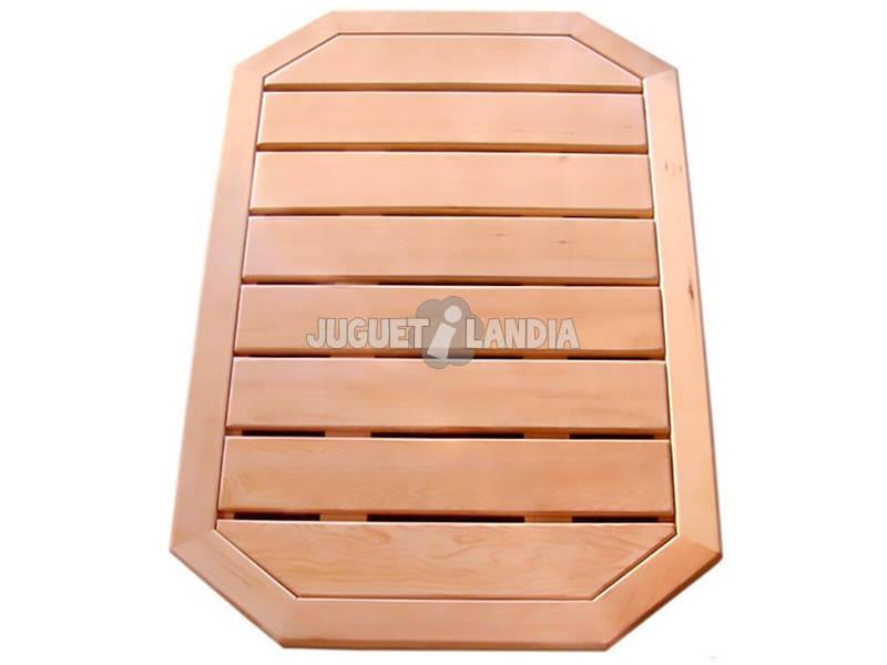 Caillebotis madeira para chuveiro Solar Poolstar DS-CAILLEBOTIS