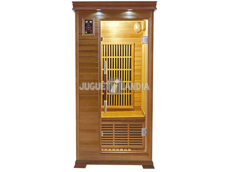acheter sauna infrarouges luxe 1 place juguetilandia. Black Bedroom Furniture Sets. Home Design Ideas