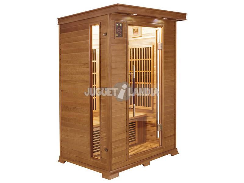 Sauna Infravermelha Luxe - 2 Lugares Poolstar SN-LUXE-2