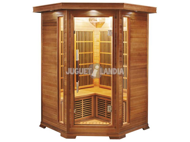 Sauna Infravermelho Luxe - 2/3 Assentos Poolstar SN-LUXE-2C