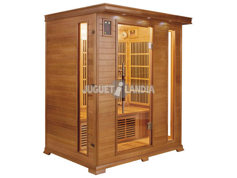 Sauna Infravermelha Luxe - 3 Lugares Poolstar SN-LUXE-3