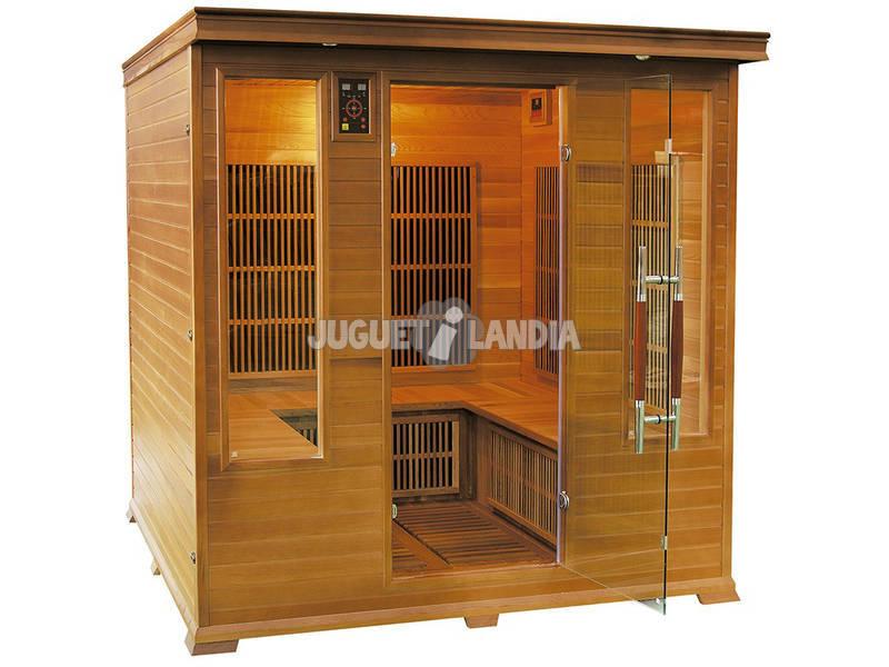 Sauna Infravermelha Luxe Club - 4/5 Poolstar SN-LUXE-4S