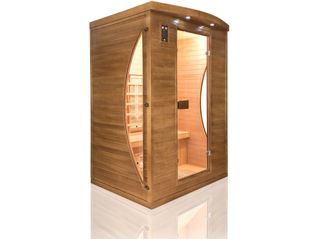 acheter sauna infrarouges spectra 2 places juguetilandia. Black Bedroom Furniture Sets. Home Design Ideas