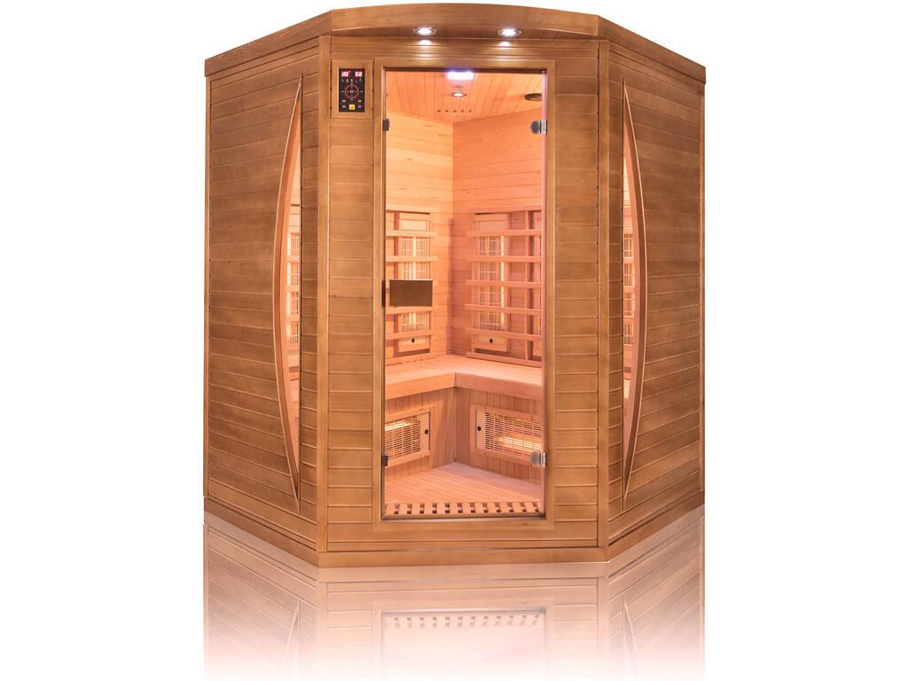 Sauna Infrarossi Spectra 3 Posti Angolare
