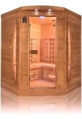 Infrarot-Sauna Spectra 3 Sitzer Angular Poolstar SN-SPECTRA04C