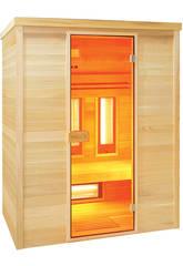 Infrarote Sauna Multiwave 3 Sitzungen Poolstar HL-MW03-K