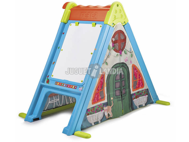 Play and Fold Feber Activity House 3 en 1 Famosa 800011400