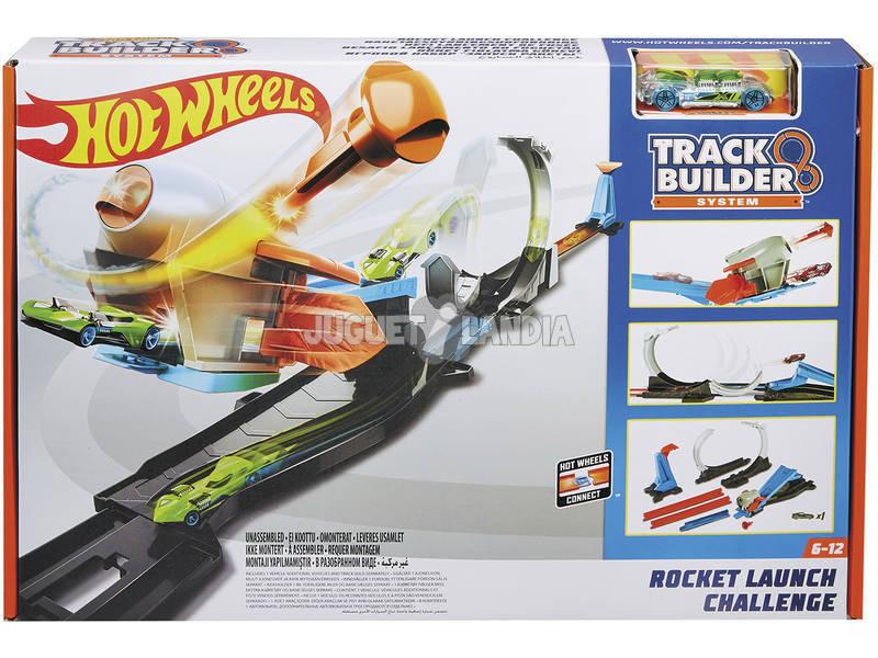 Hot Wheels Pista Reto Lanzacohetes 3 En 1 Mattel FLK60