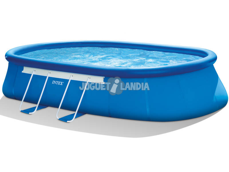 Piscina hinchable 610x366x122 cm intex 26194 juguetilandia for Intex piscine catalogo