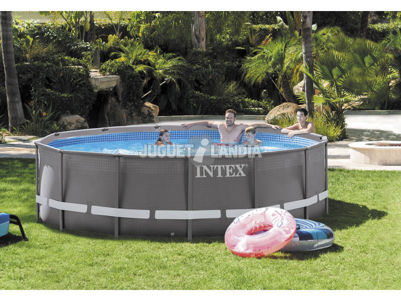 acheter piscine hors sol 427 x 107 cm intex 26310np juguetilandia. Black Bedroom Furniture Sets. Home Design Ideas