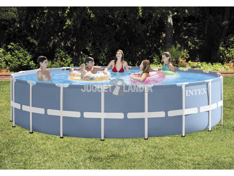acheter piscine hors sol 549 x 122 cm intex 26752 juguetilandia. Black Bedroom Furniture Sets. Home Design Ideas