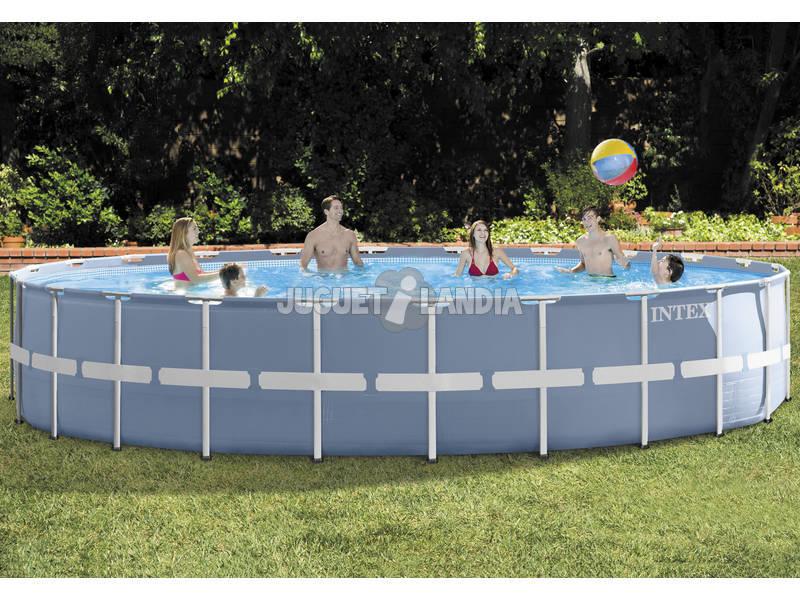 Acheter piscine hors sol 732 x 132 cm intex 26762np for Acheter piscine intex