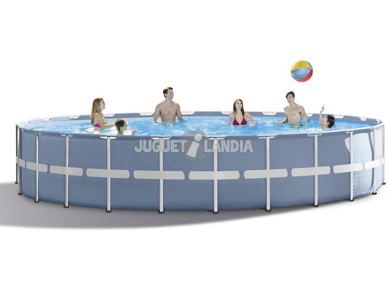 Piscina desmontable 732x132 cm intex 26762 juguetilandia for Juguetilandia piscinas desmontables