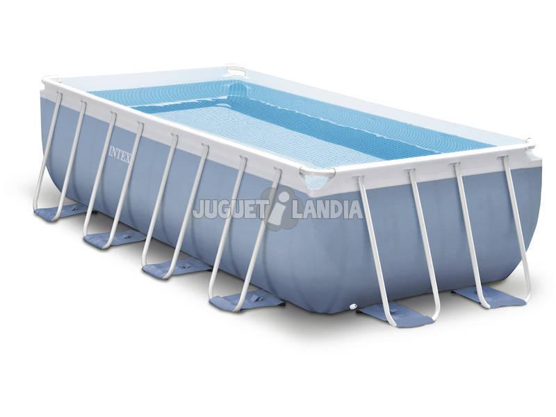 piscina desmontable 400x200x100 cm intex 26776