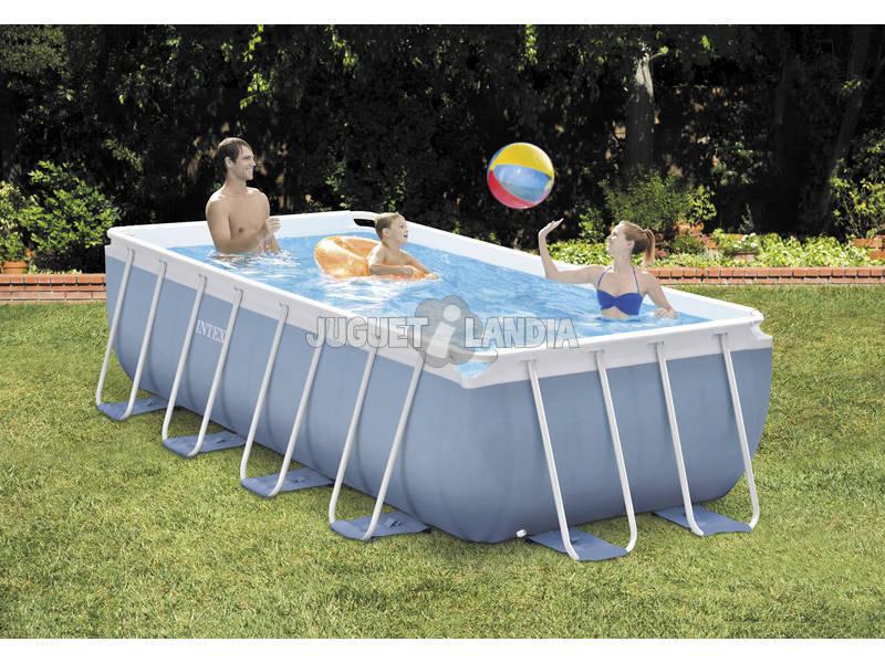 acheter piscine hors sol 400 x 200 x 100 cm intex 26776 juguetilandia. Black Bedroom Furniture Sets. Home Design Ideas