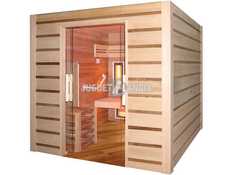 Sauna Híbrida - Mobilidade reduzida - Poolstar HL-HC04A-K