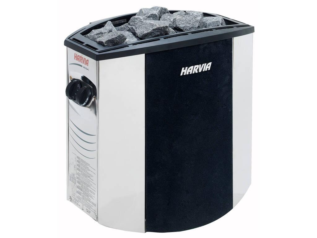 Calefactor Sauna Eléctrico Vega Lux 8 Kw Poolstar SN-HARVIA-BX80