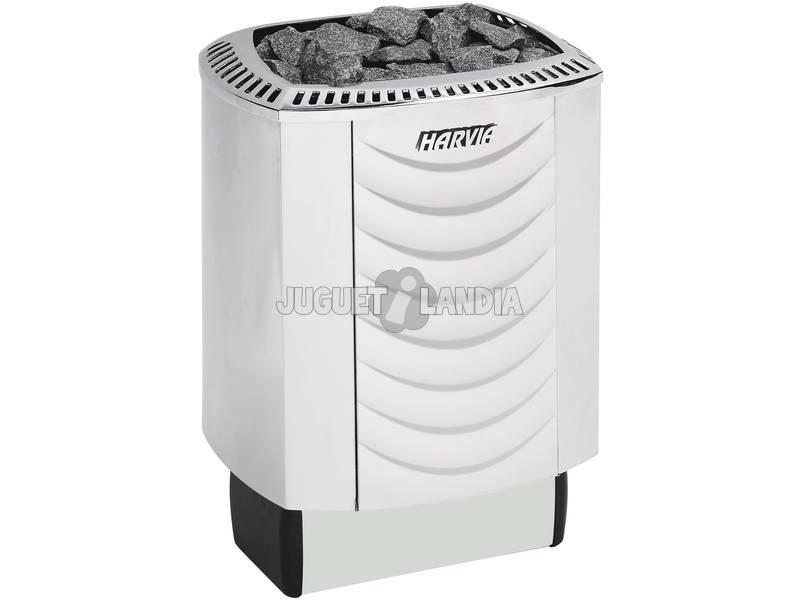 calefator sauna elétrico do som Steel 8 Kw Poolstar SN-HARVIA-M80S