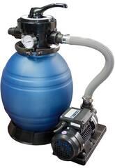 Depuradora Monobloc 400 Filtro Arena con Bomba de 0,5 hp QP 565092