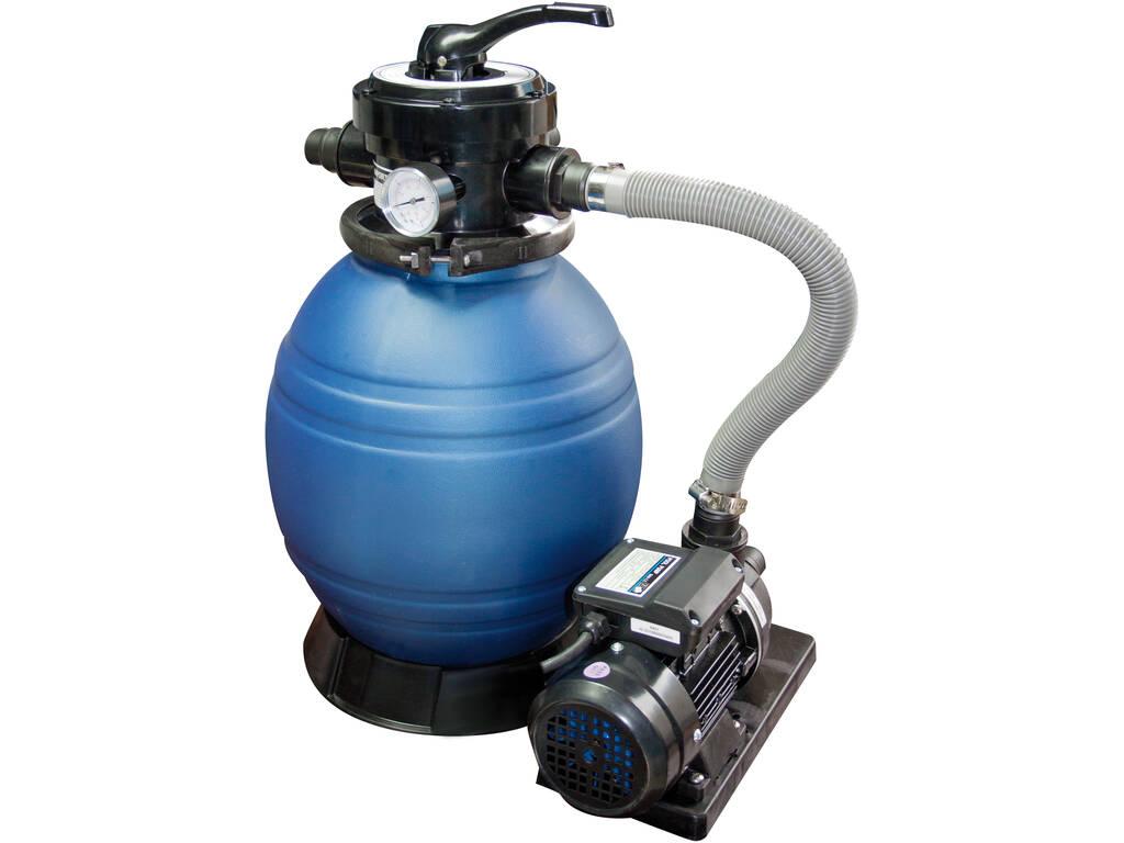 Monobloc 500 Filtro Sabbia con Pompa da 0,8 hp QP 565094