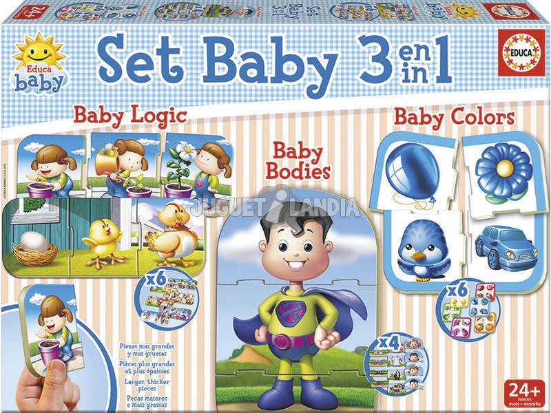 Puzzle Baby Set 3 En 1 Educa 17058