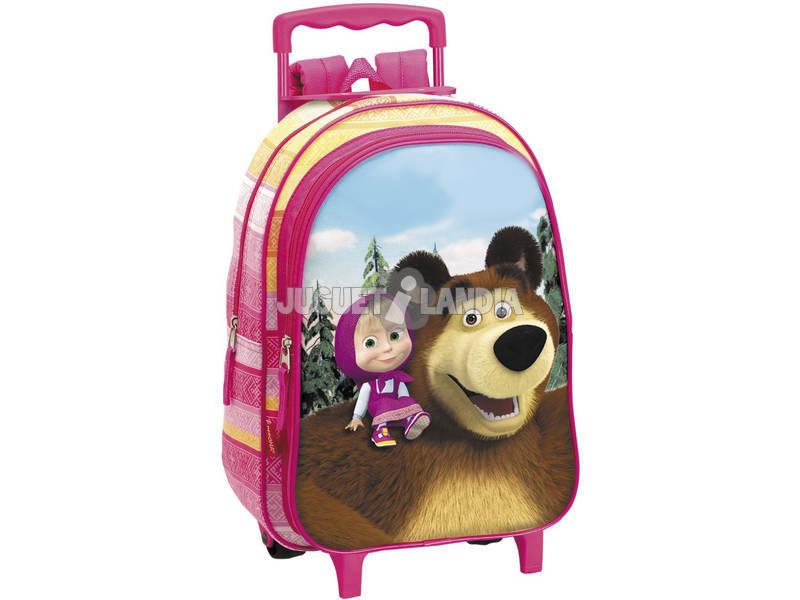 Masha y el Oso Mochila con Carro Infantil Perona 51805