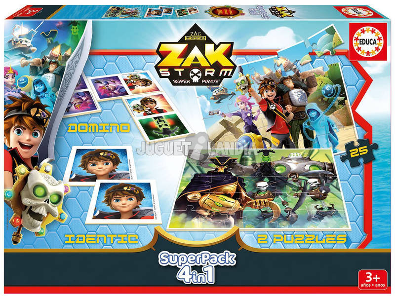 Zak Storm Superpack 4 in 1 Educa 17715