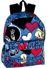 Piolín Daypack Infantil Jeans Perona 53307