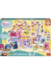 Shimmer And Shine Set Especial 8 em 1