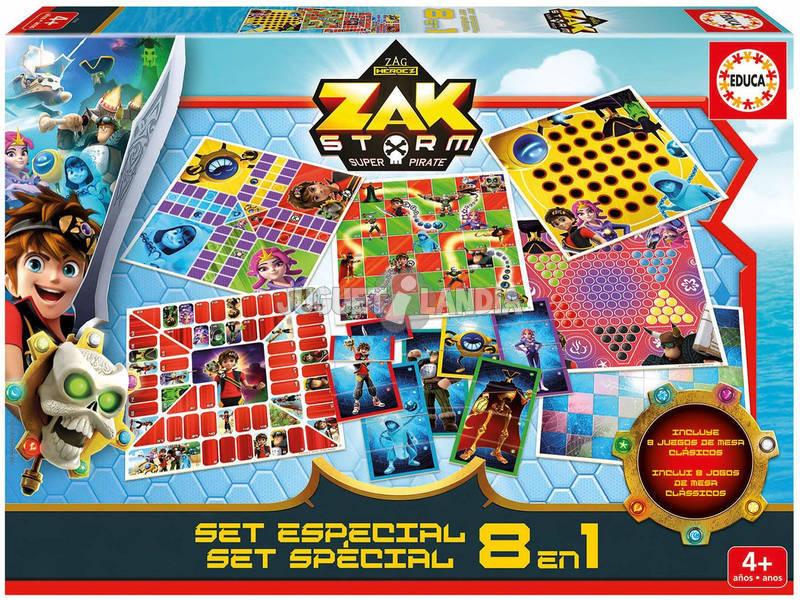 Zak Storm Set Especial 8 en 1