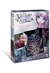 Nebulous Stars Kratz-Bilder Isadora Educa 17590