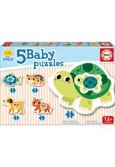 Baby Puzzle Animaux Educa 17573