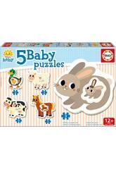 Baby Puzzle La Fattoria Educa 17574