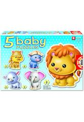 Baby Puzzle animaux sauvages Educa14197