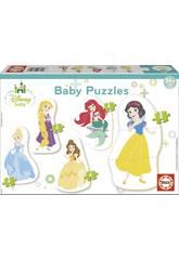 imagen Puzzle Baby Princesas Disney Educa 17754