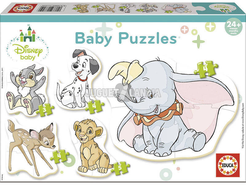 Puzzle Baby Disney Animali Educa 17755