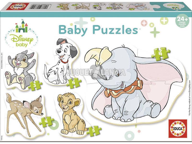 Quebra-cabeça Baby Disney Animals Educa 17755