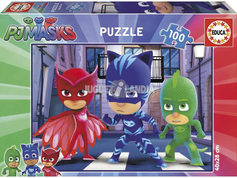 Puzzle 100 PJ Masks Educa 17732