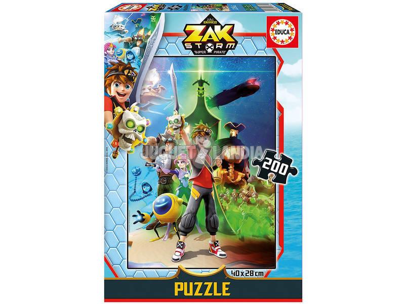 Puzzle 200 Zak Storm Educa 17734