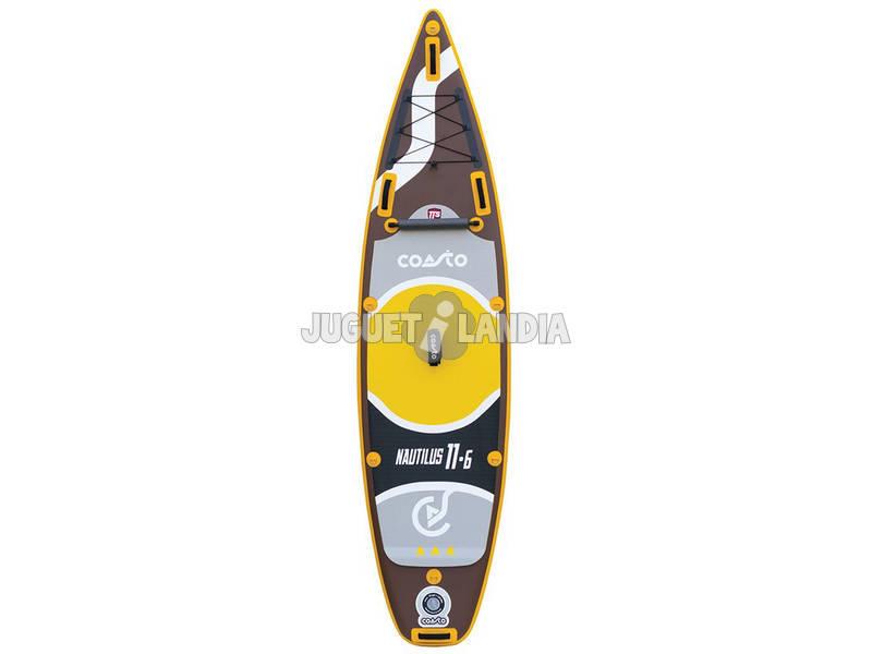 O nautilus inflável da tabela de ressaca da pá custou 350 x 86 Cm Poolstar PB-CNAU116