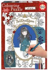 Puzzle 150 The White Rabbit Gorjuss Coloration Educa 17820