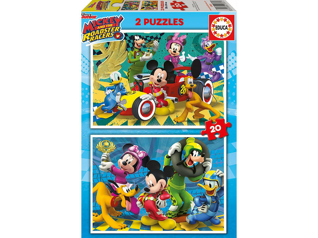 Puzzle 2x20 Mickey y Los Superpilotos Educa 17631
