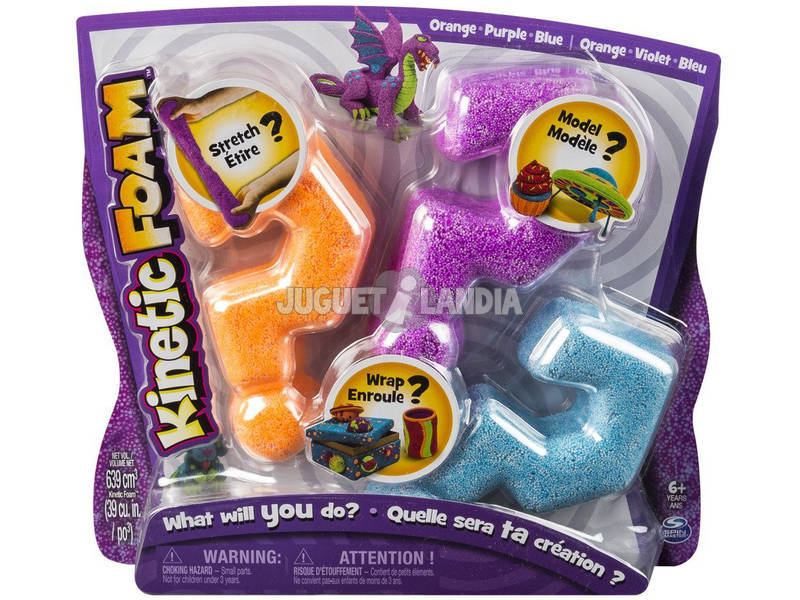 Kinetic Sand Foam Multipack Bizak 6192 7231