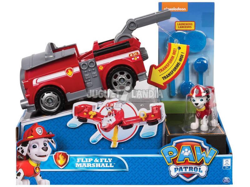 Patrol Dog Virar e Voar Veículo Bizak 6741