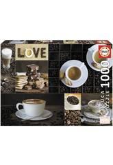 imagen Puzzle 1000 Café Educa 17663