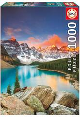 PUZZLE 1000 Lac Moraine, Banff National Park, Canadá Educa 17739
