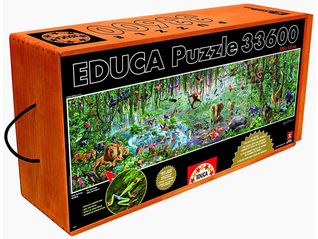 Puzzle 33600 Vida Salvaje Educa 16066